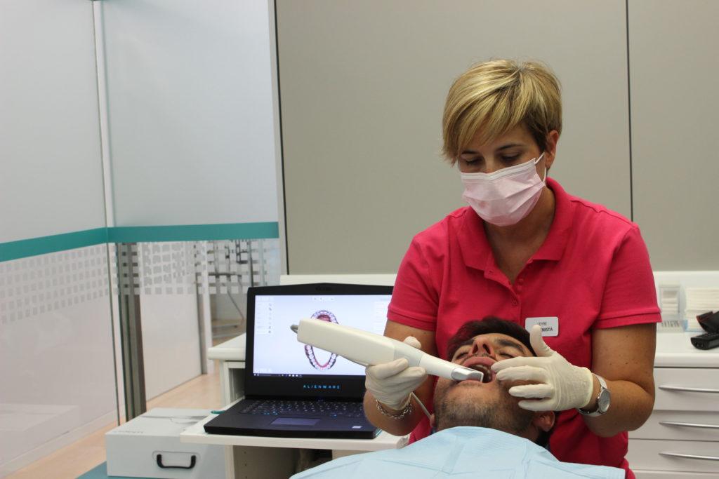 escaner intraoral clínica dental susana ocio