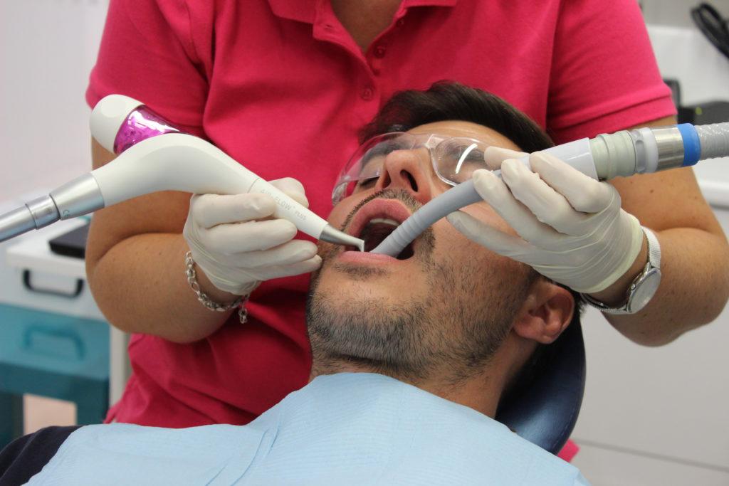 aeropulidor clínica dental susana ocio